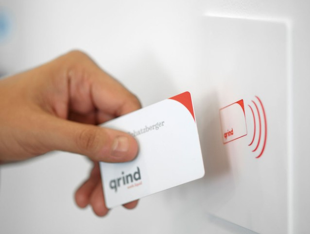 Grind Gallery RFID card