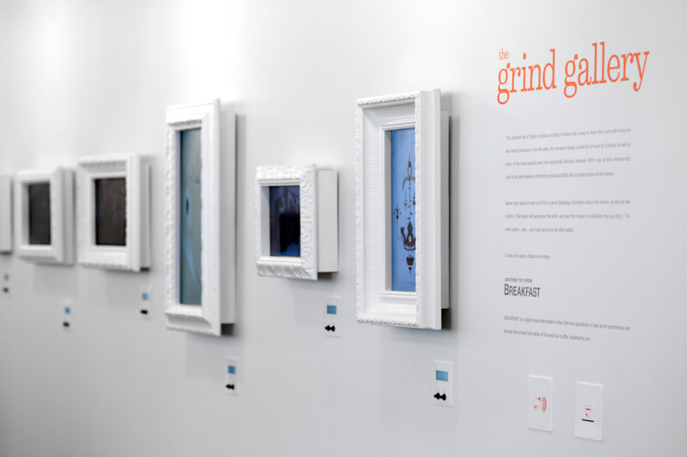 Grind Gallery Interactive Installation