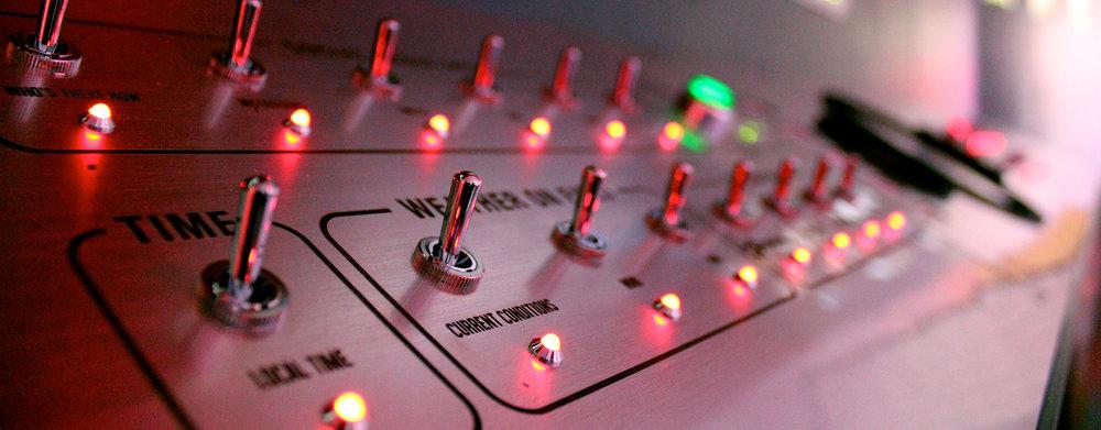 Mission Control, 2013  Interactive Installation