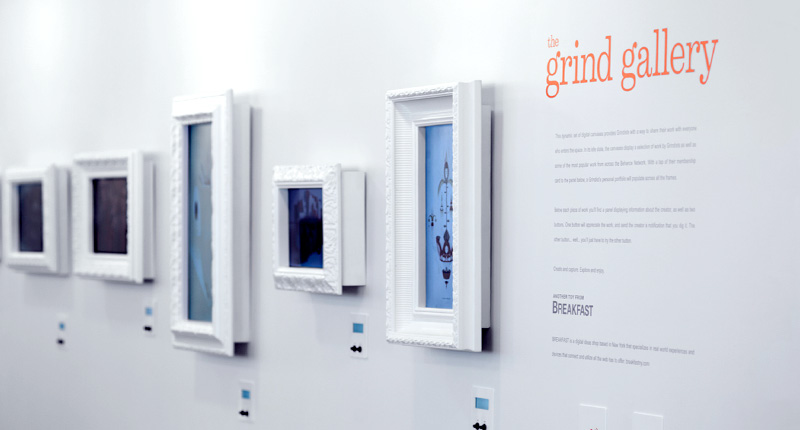 Grind Gallery, 2014  Installation