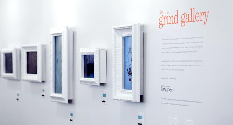 Grind Gallery, 2014  Installation