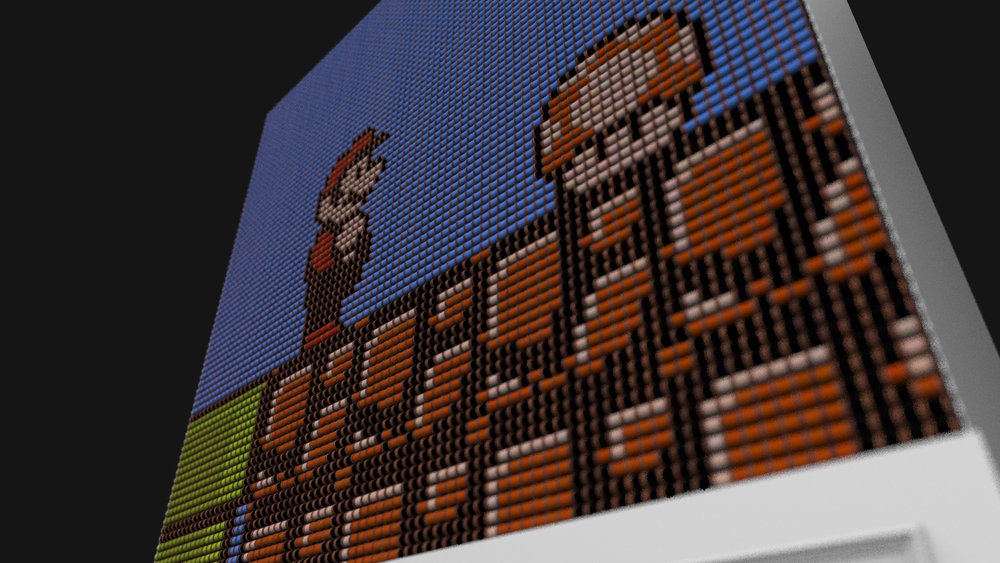 Mario on the Thread Screen