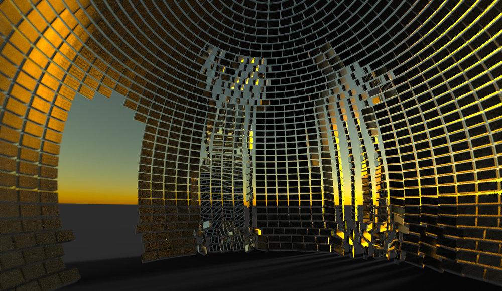 inside brixel globe