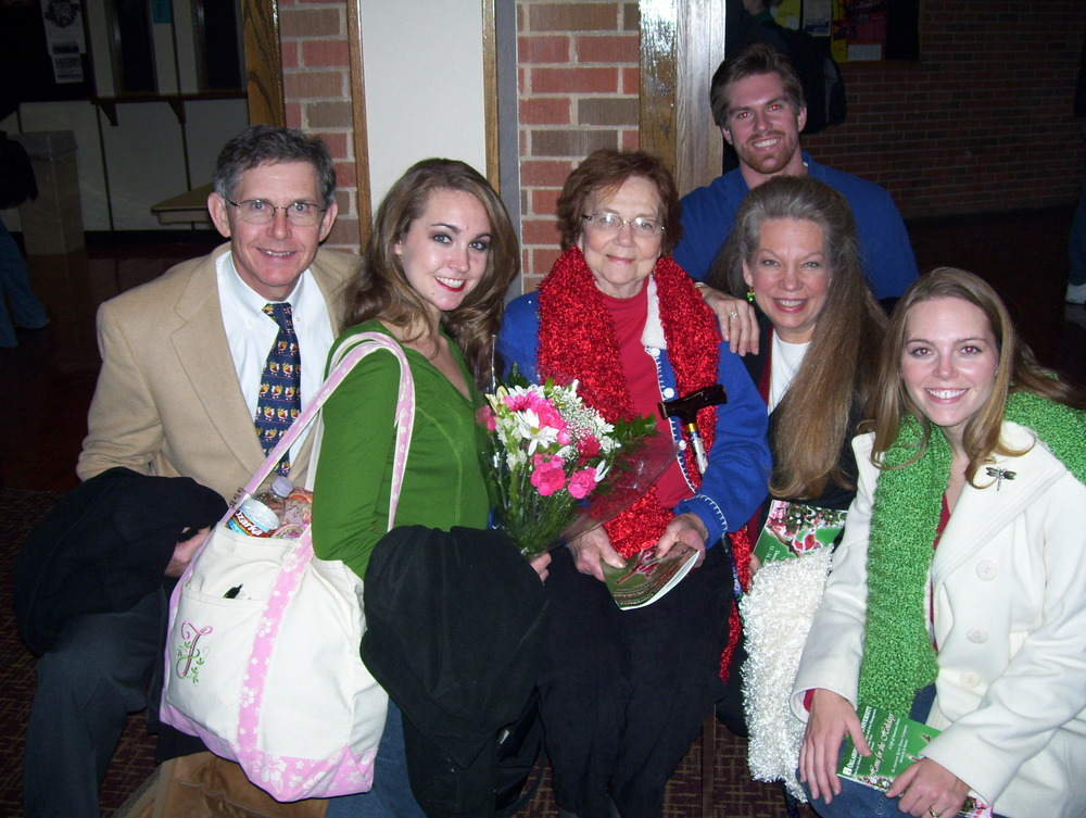 The last show Grandma got to see at OCU and I'm so glad she did!