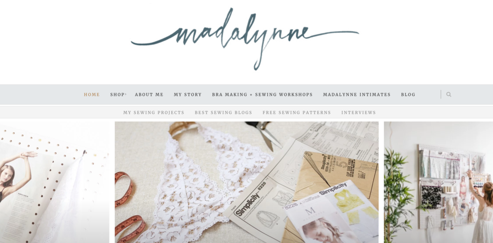 Photos from the Madalynne website, www.madalynne.com