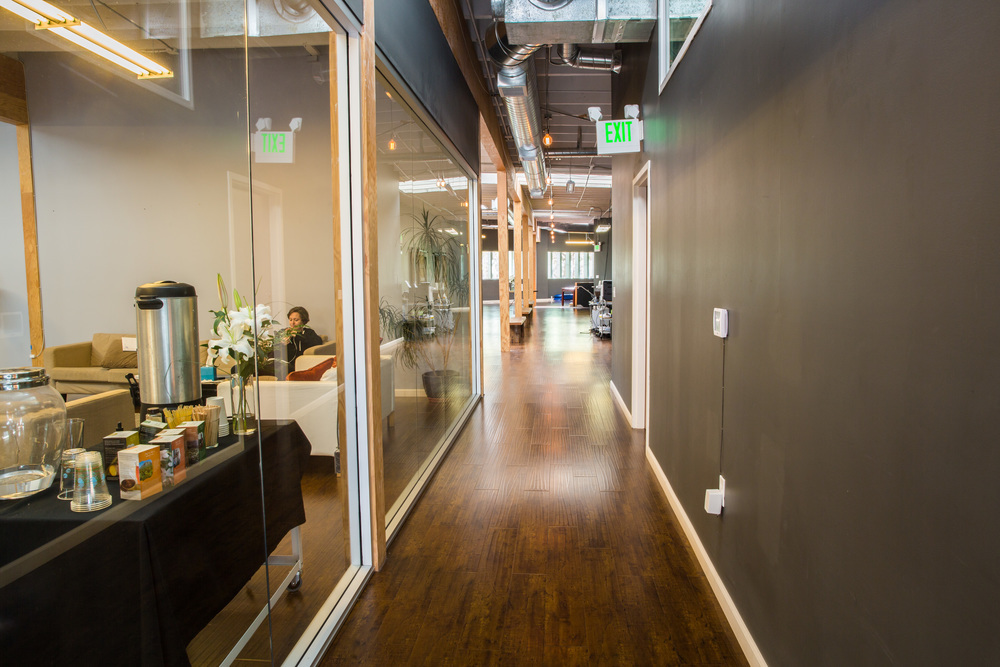 Hallway from Fishbowl to Main Room