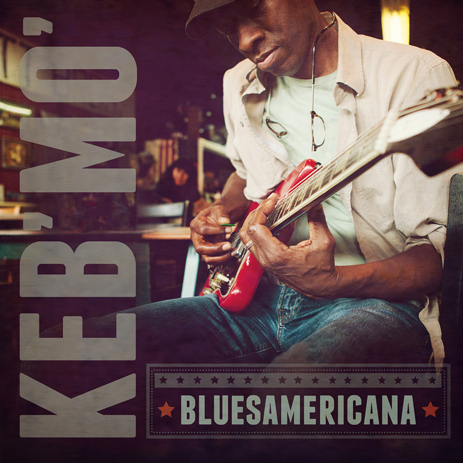 Keb' Mo' album cover. Graphic design.