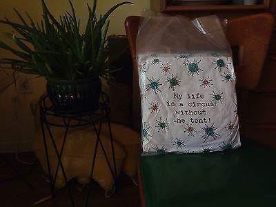 Franciscan Starburst Theme throw pillow