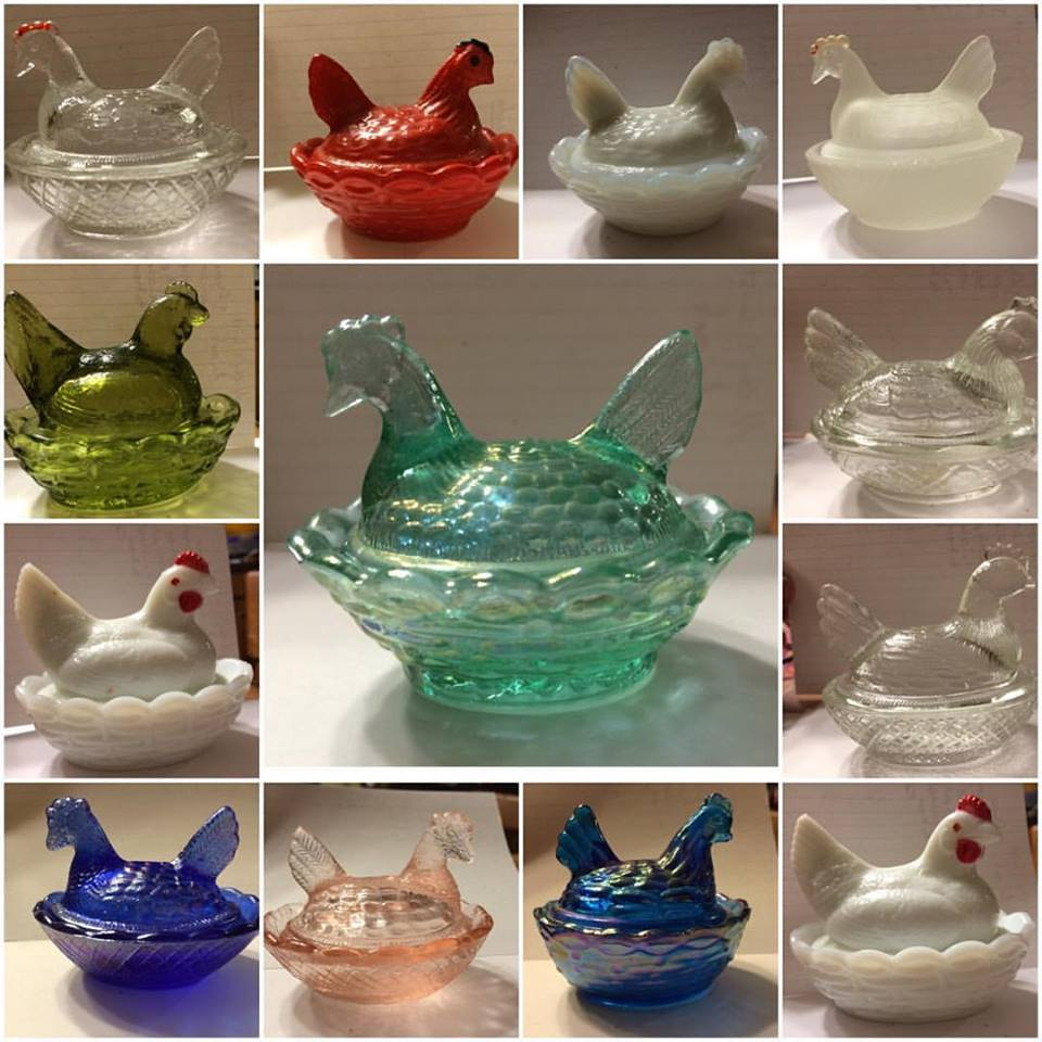 "3"" and under SALT CELLARS selection.  They are so cute!  Make sure you check out the video above to learn about them and I discuss condition issues, etc.  If you are new to vintage glass collecting, you might find some information of interest about the makers and markings."