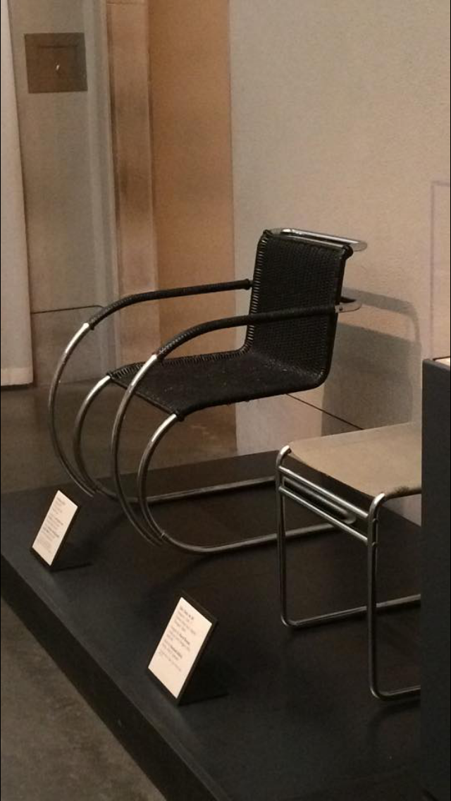 We even found some MCM! Mies Van de Rohe MR 20 Lounge Chair
