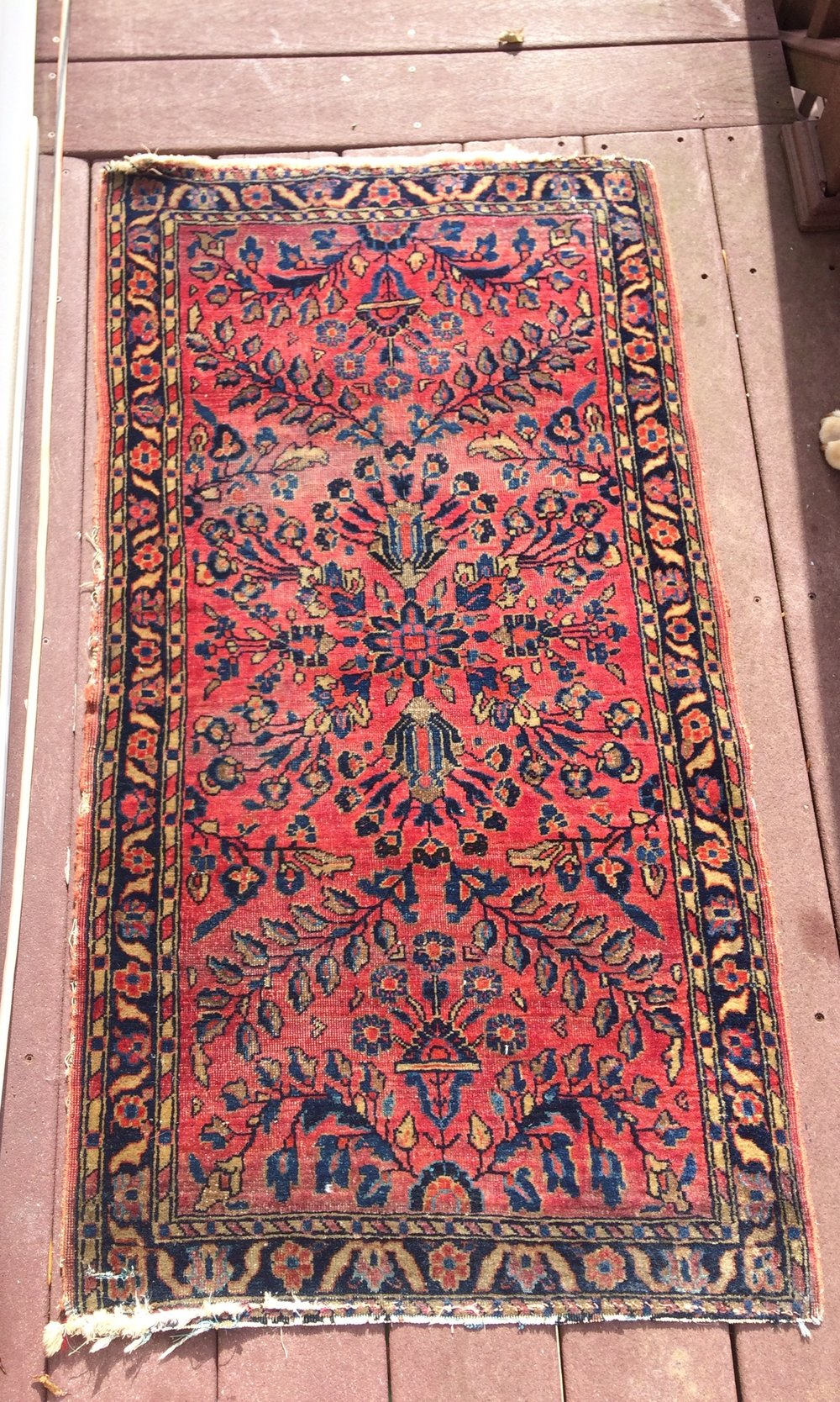 Just listed! https://www.etsy.com/listing/541370161/on-sale-antique-persian-hand-knotted