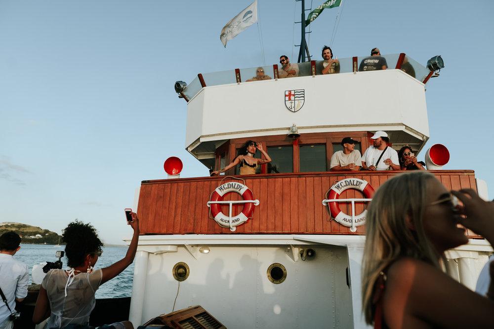 TBC Steamship Party