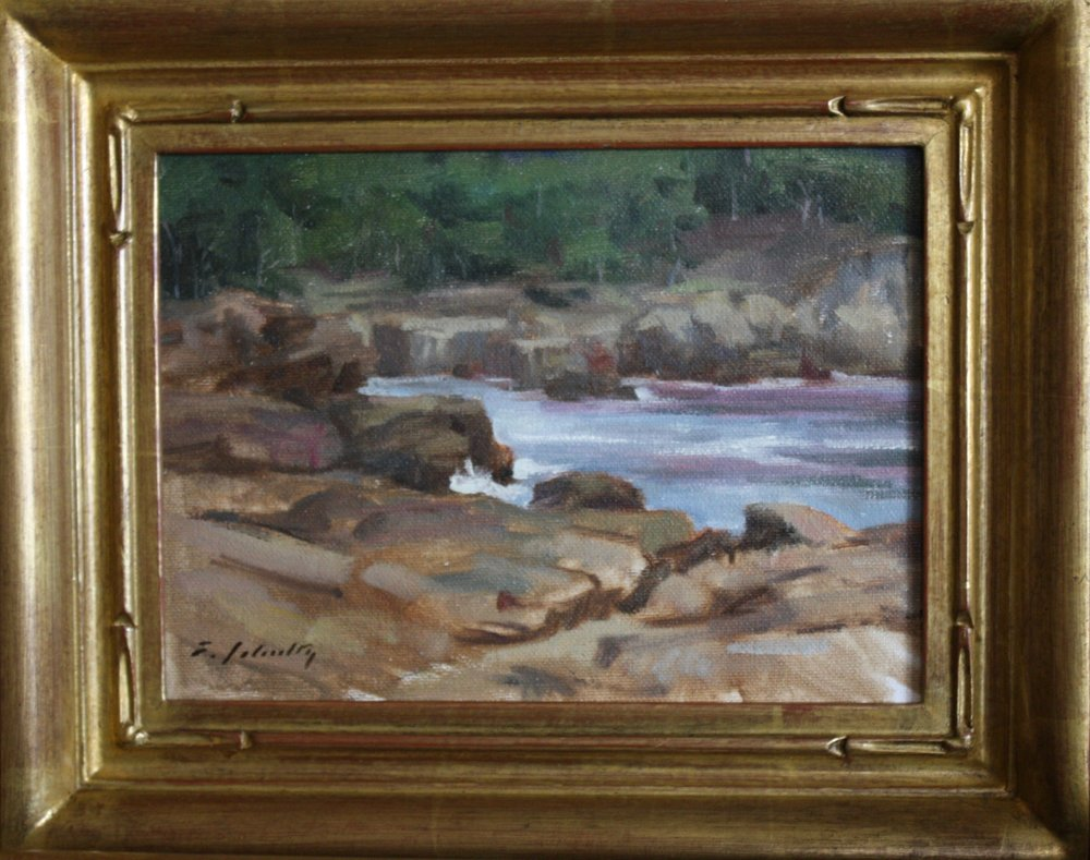 """""""China Cove"""" 6x8 $350"""