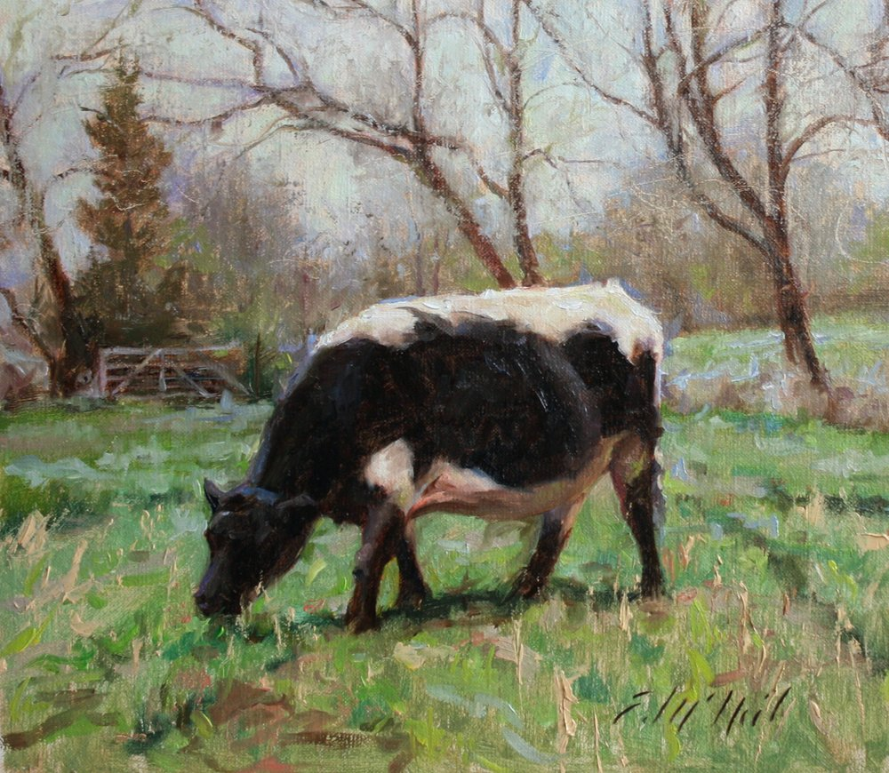 Grey Day Cow 8x9%22$300.jpg