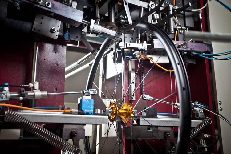 Wheel Building Machine