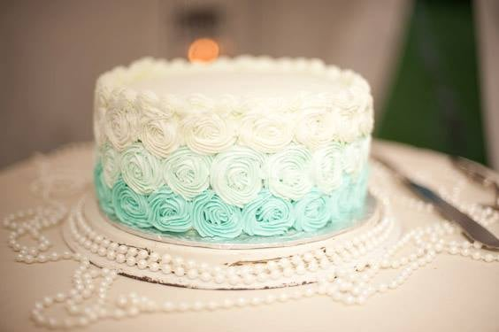 I feel any celebration is deserving of cake. This was the cake I made for my sister's wedding back in 2013. Photo credit to  Vanessa Savage Photography