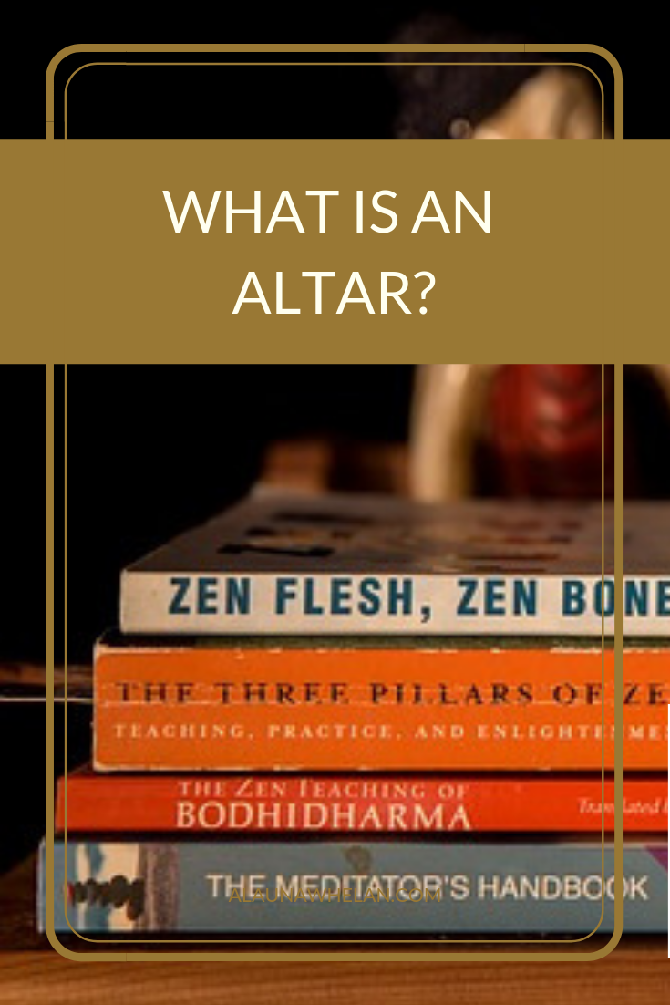 what is an altar