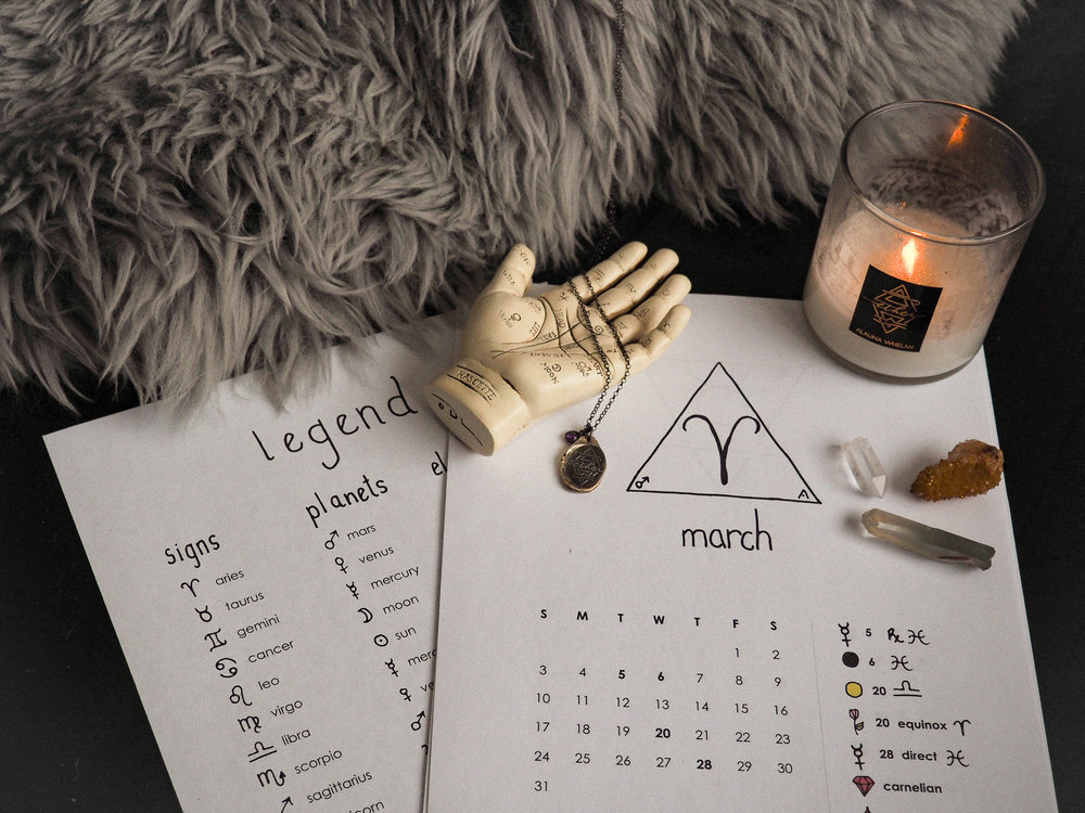 Astrology Calendar