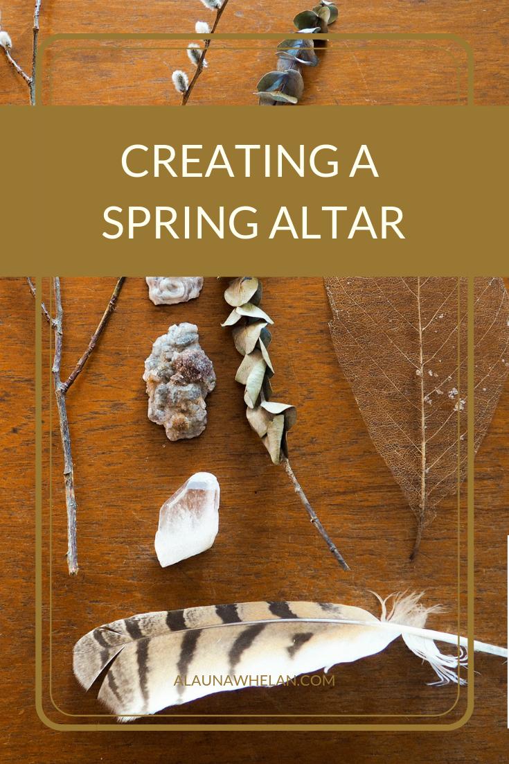 Creating a Spring Altar