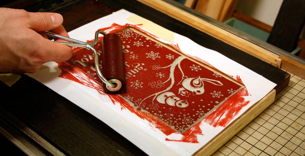 drumming-bird-arts_loving-hopeful-giving-joyous_inking-plate