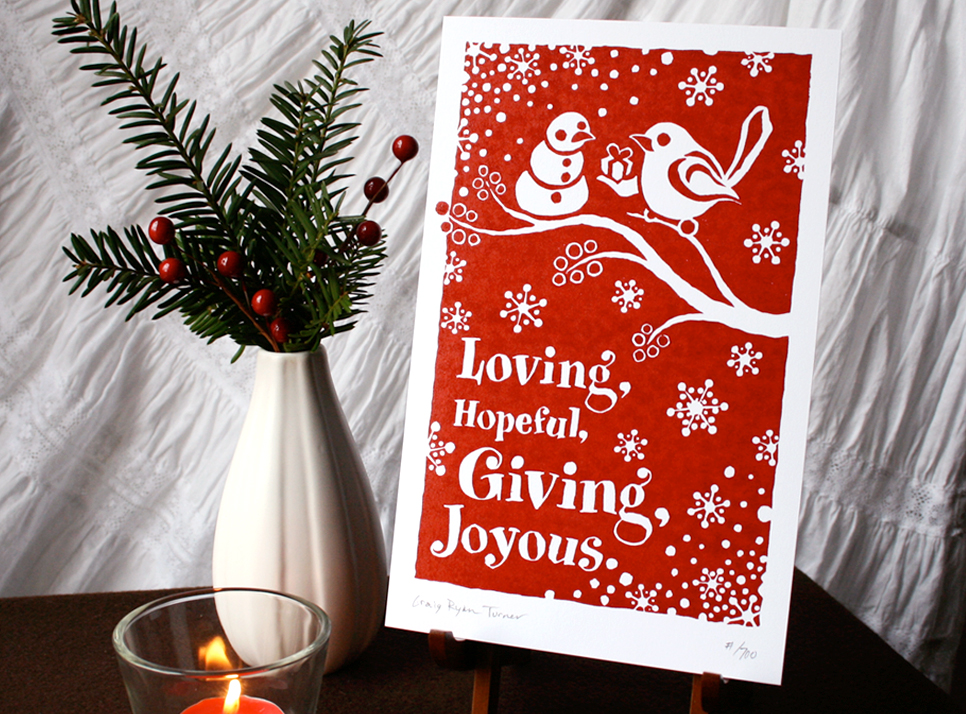 drumming-bird-arts_loving-hopeful-giving-joyous_set