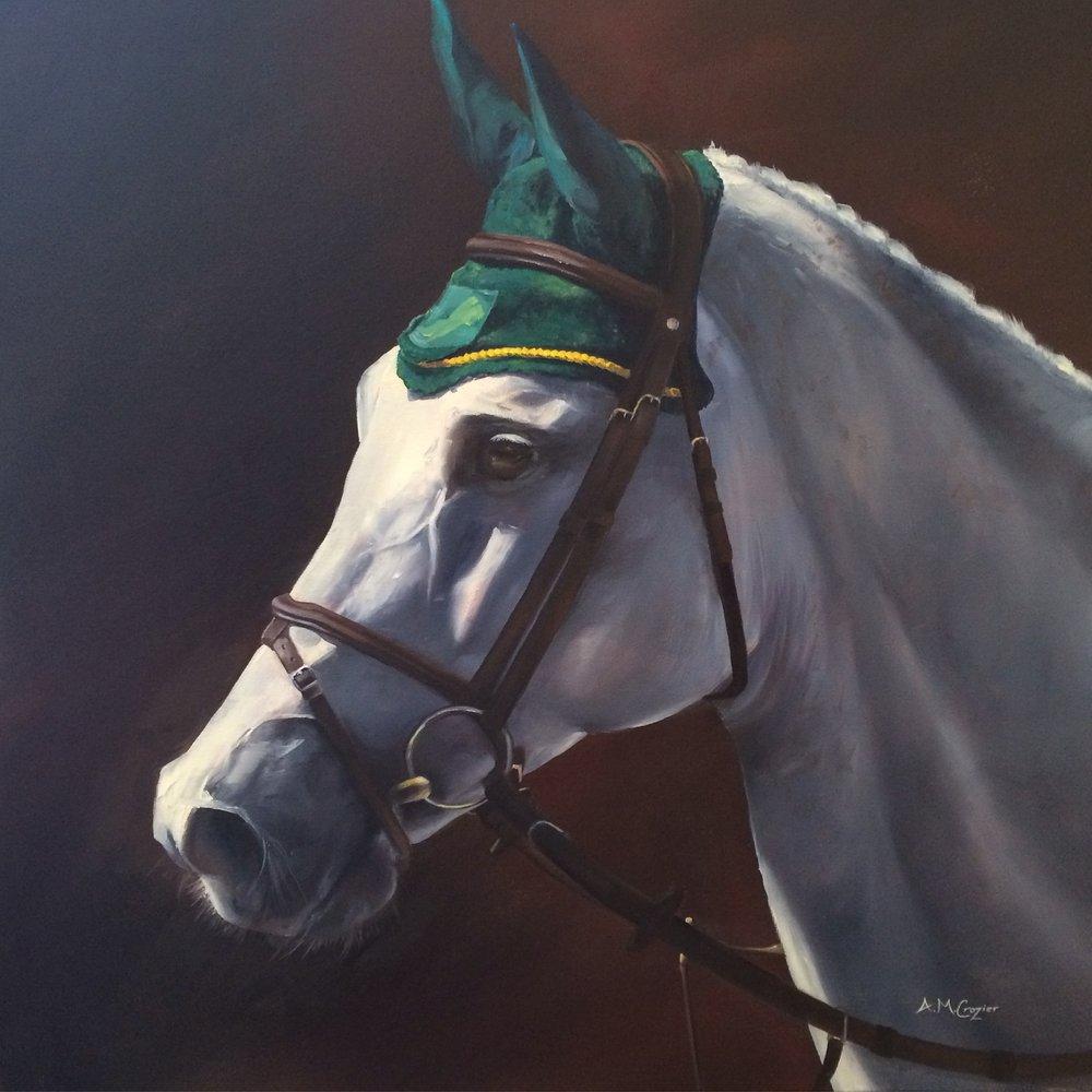 Hood of Green & Gold - Cezanne 30