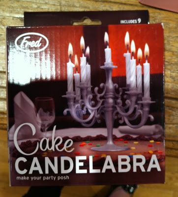 Cake Candelabras By Fred