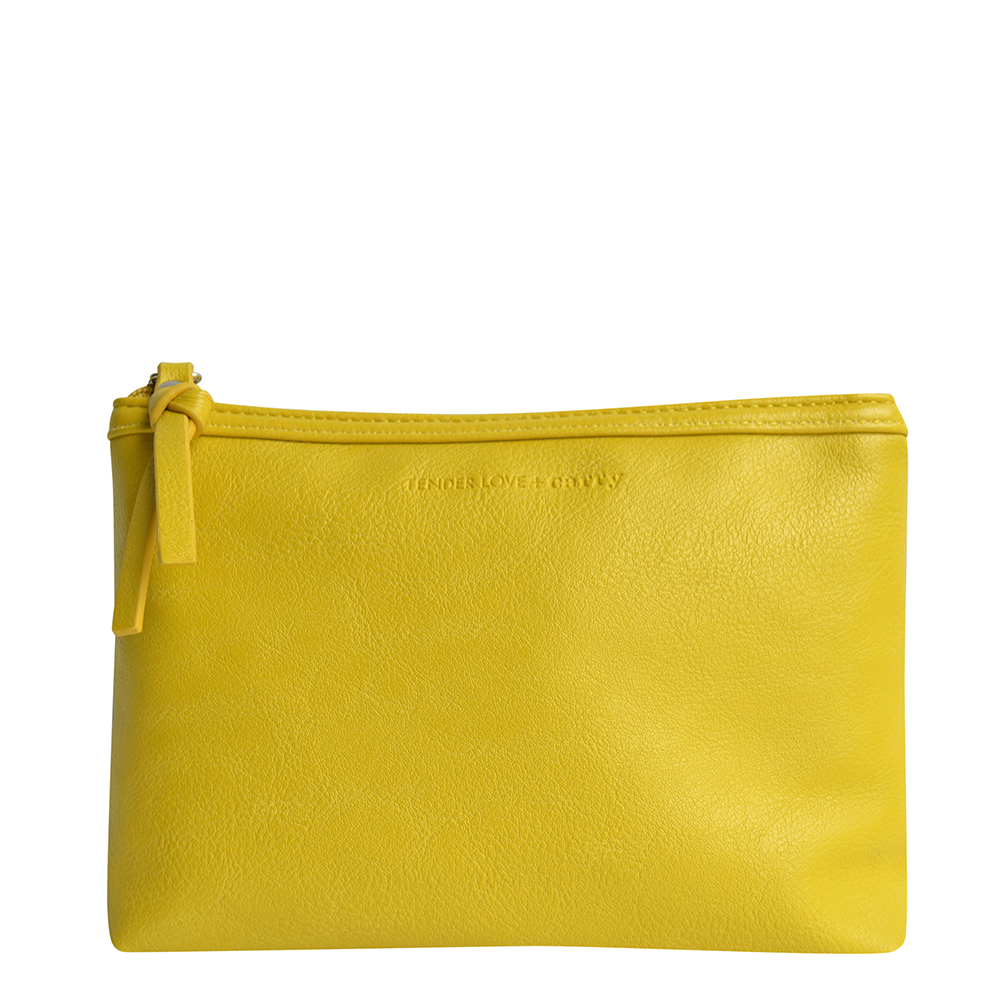 Dynamic Duet Lemon Basic Pouch    T-191YT