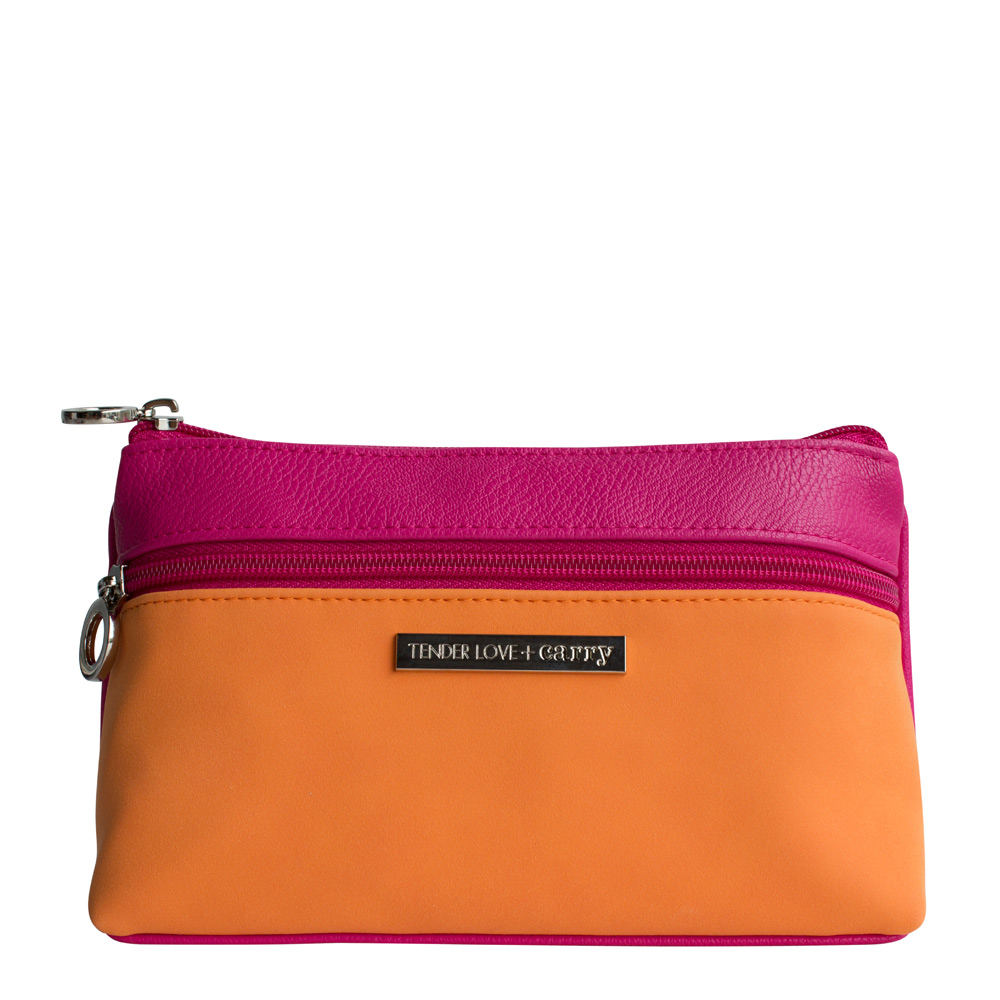 Dynamic Duet Double Zip Pink/Orange    T-191DP