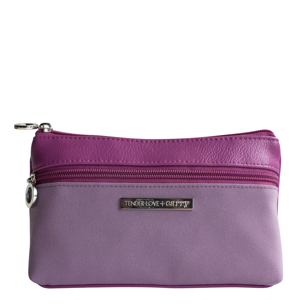 Dynamic Duet Double Zip Mauve/Purple   T-191DM