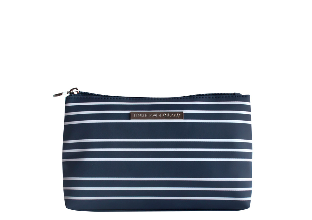 Nautical Stripe Basic Pouch   T-191ND
