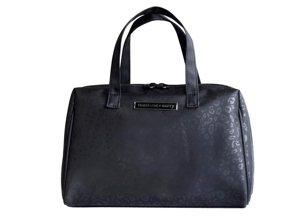 Black Leopard Bowling Bag T-197BL