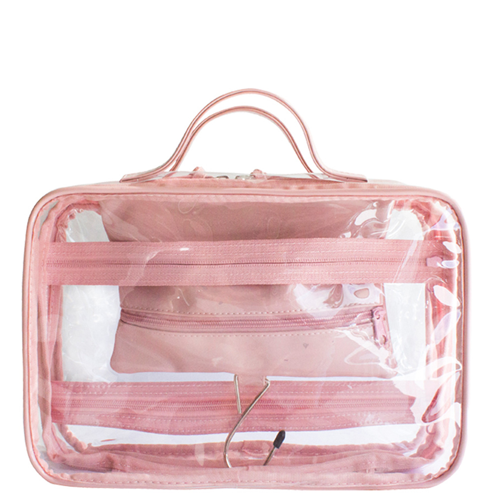 Crystal Hanging Washbag - Blush - Code: T-160CHB