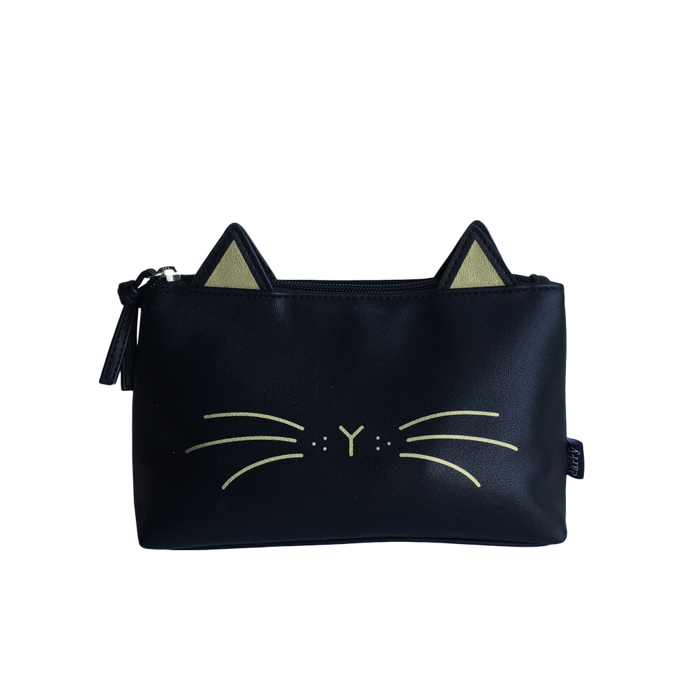 Whiskers Basic Pouch - Noir - Code: T-191WN