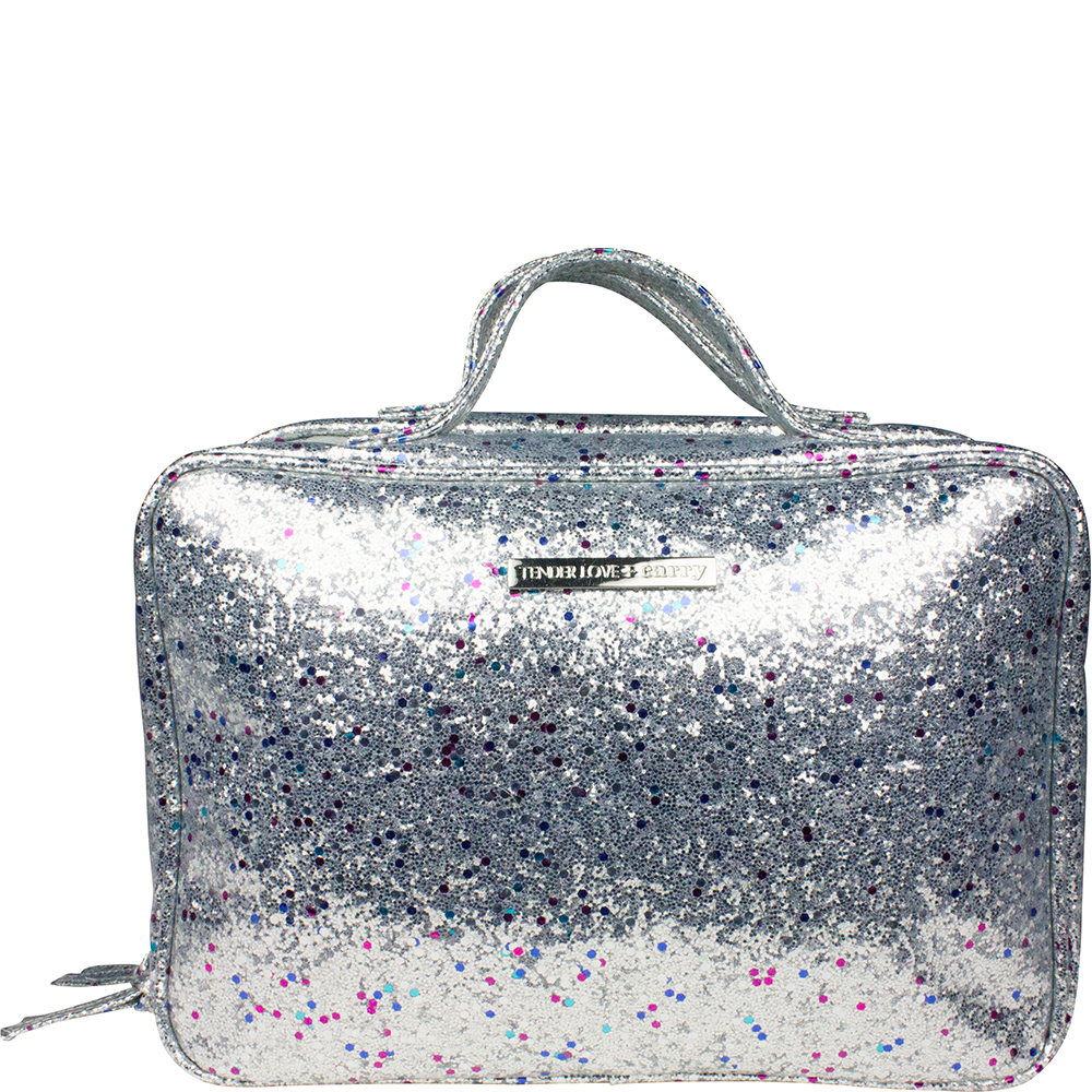 Multi Glitter Hanging Washbag - Code: T-160MGS