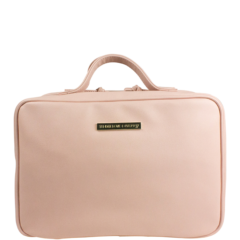 Dusty Pink Hanging Washbag - Code: T-160DP