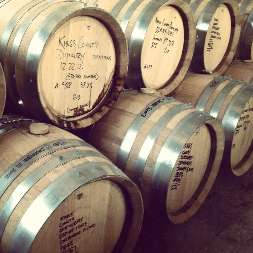 Barrels of Bourbon