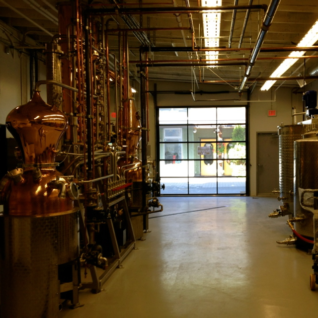 TLD distillery space
