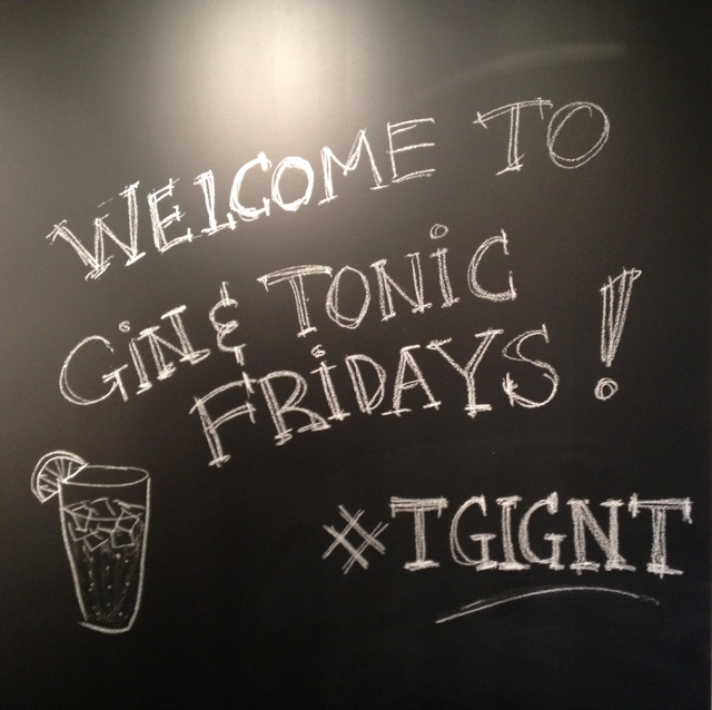Gin and Tonic Fridays