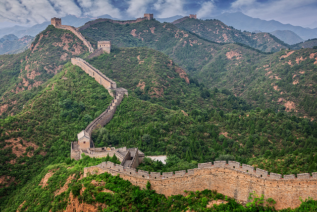 This is Great Wall of China!! | Photographer Steve Peterson