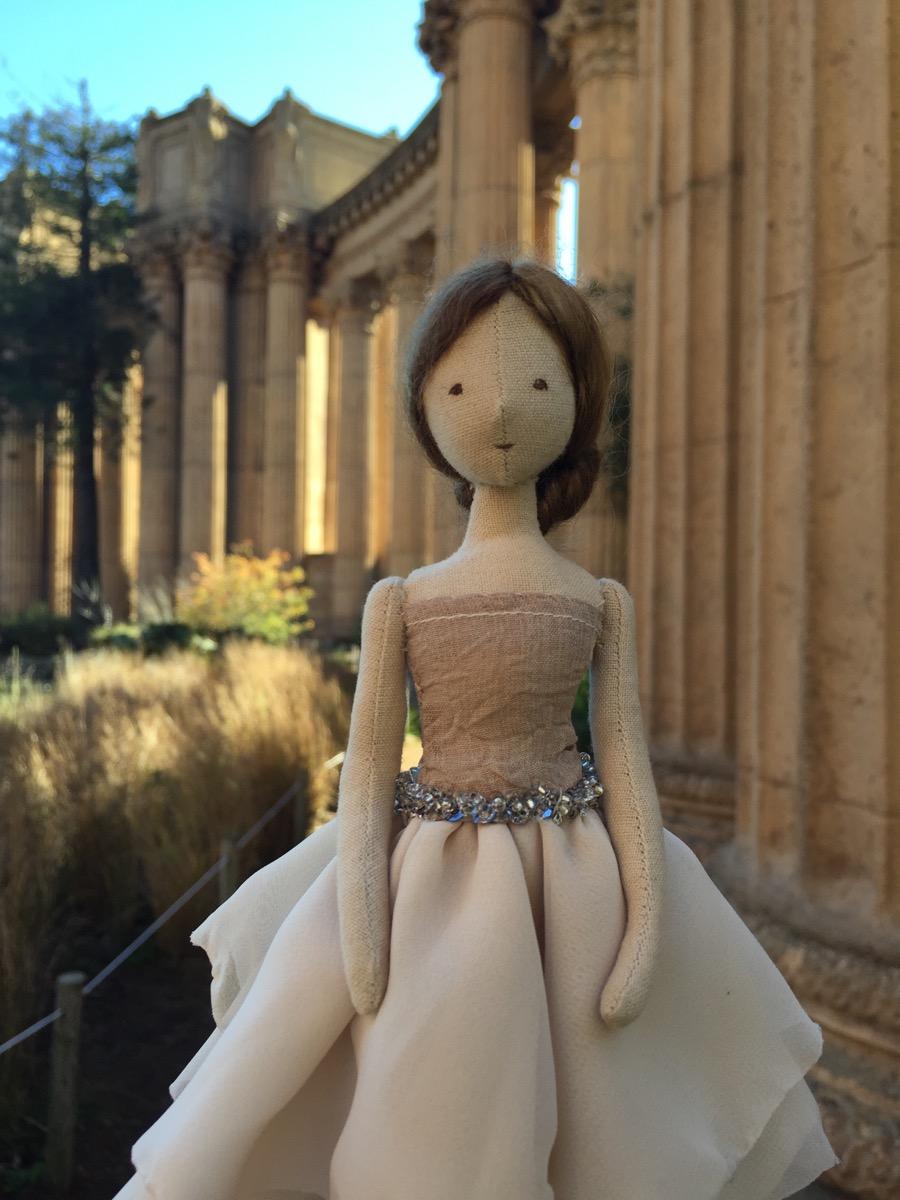 Open-Minded Handmade Doll Elegant And Graceful Art Dolls-ooak