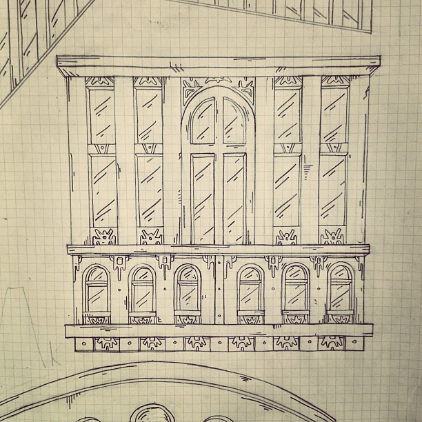 Repeat detail #buildings