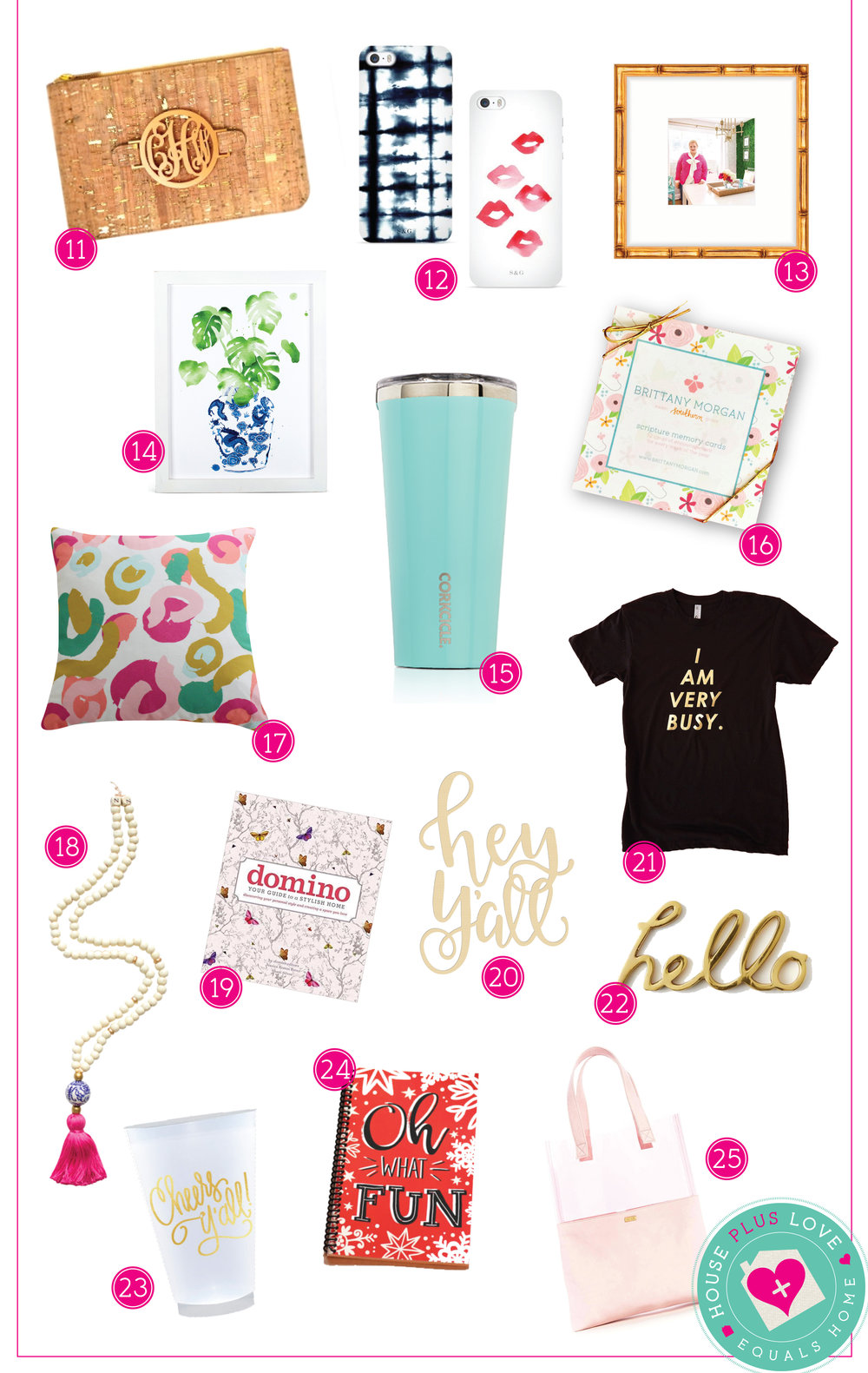 House Plus Love Gift Guide 2016 page 2