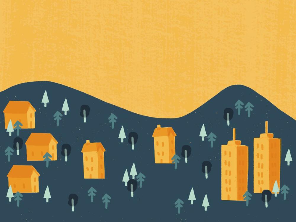 Villages_Mark Conlan Illustration