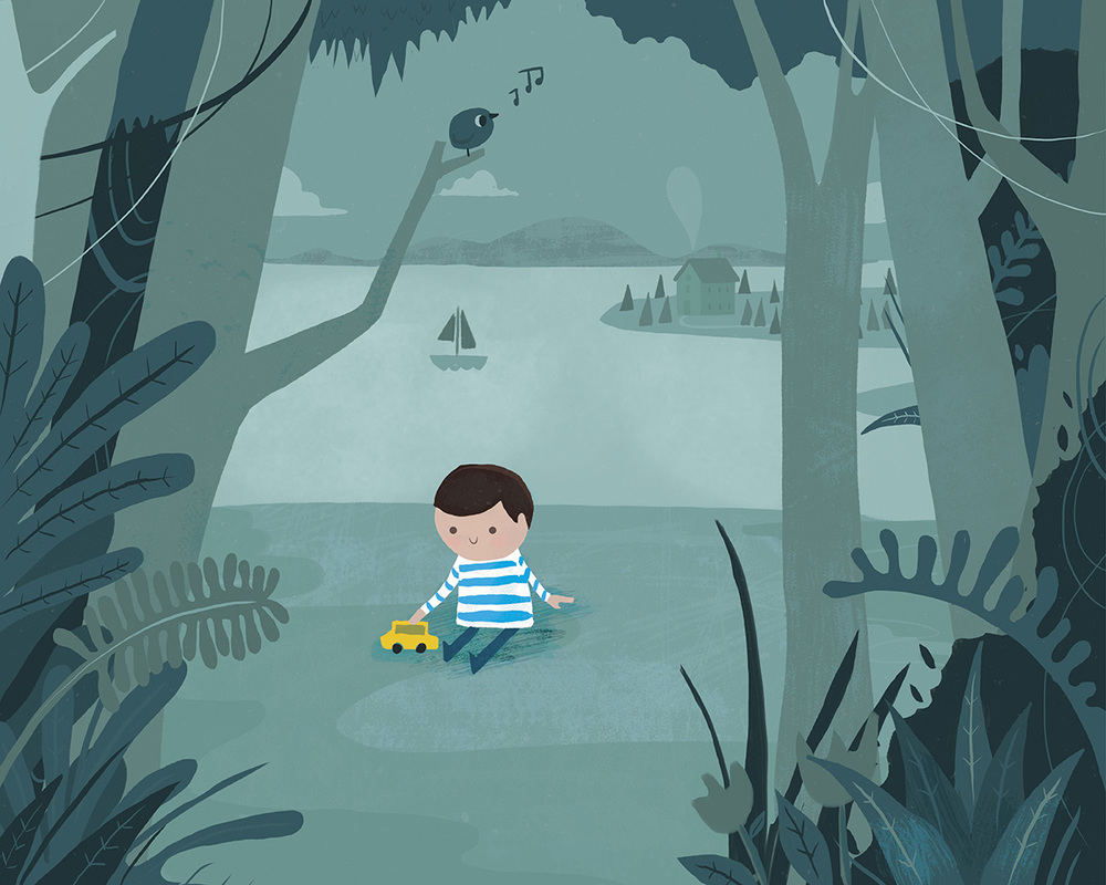 The boy who never cried_Mark Conlan Illustration Melbourne