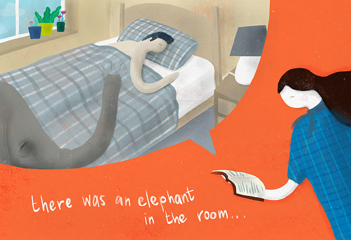 There was an elephant in the room_Mark Conlan