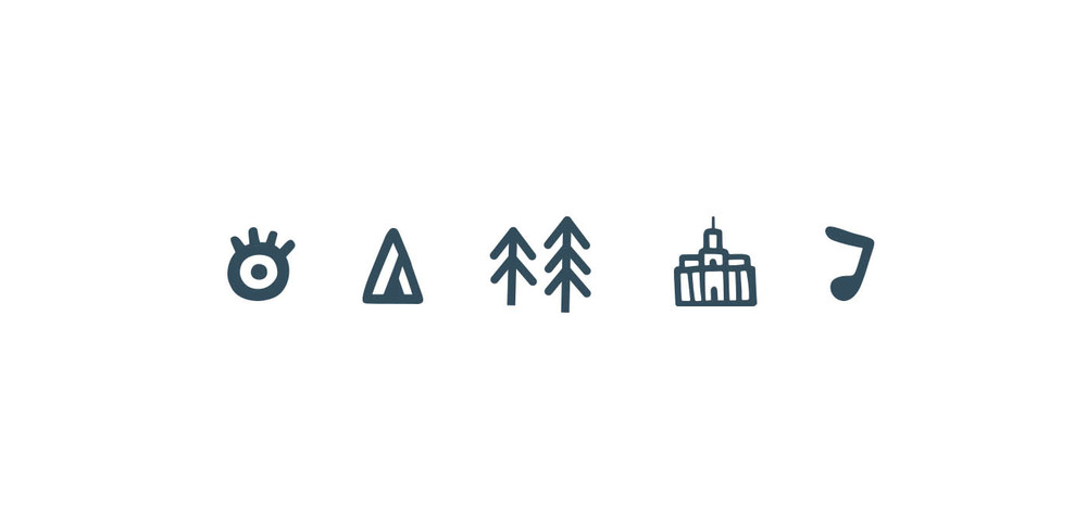 The Lost Lands branding elements_MarkConlan
