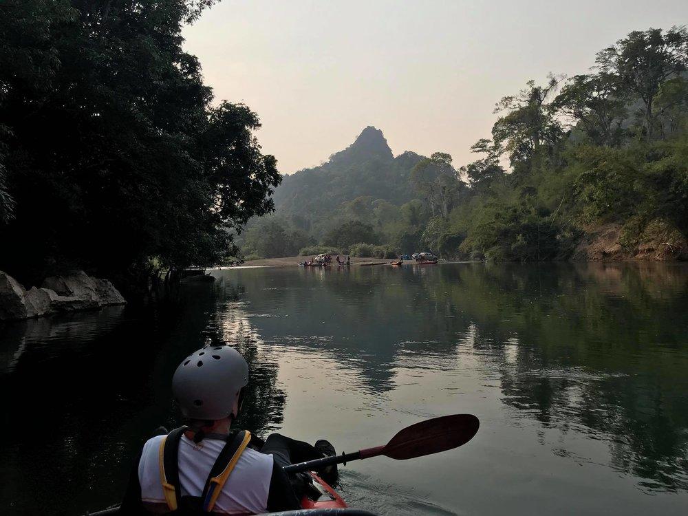 SUP Wilderness Adventures Loas Xe Bang Fai 2018 river.jpg