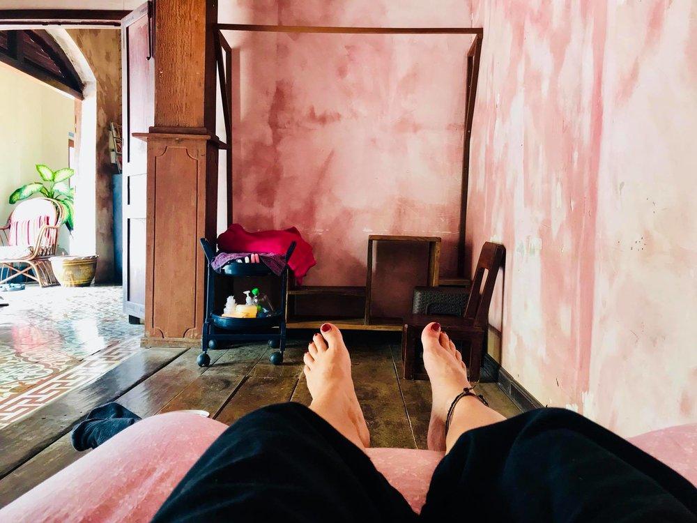 SUP Wilderness Adventures Laos Luang Prabang massage.jpg