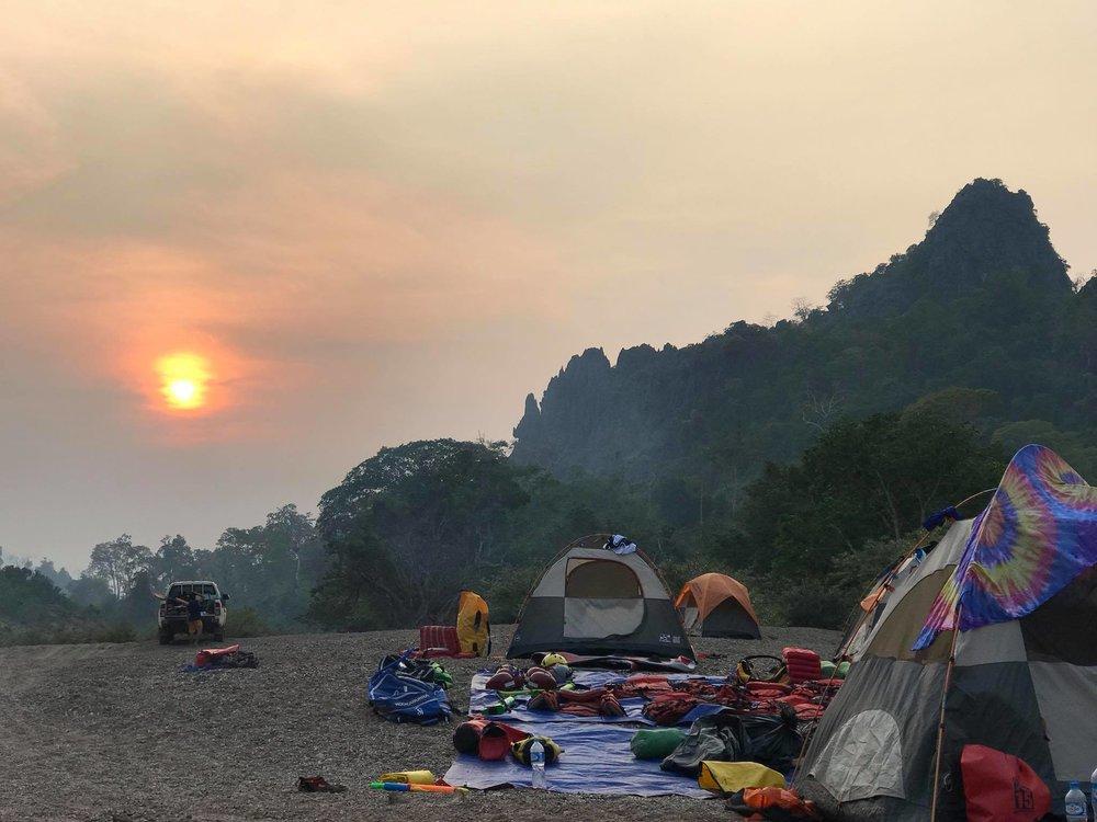 SUP Wilderness Adventures Loas Xe Bang Fai 2018 camping 2.jpg